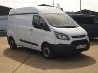 USED 2014 64 FORD TRANSIT CUSTOM 2.2TDCi  T290 L2 H2  125 BHP FINANCE AVAILABLE