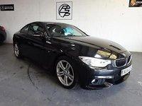 USED 2014 14 BMW 4 SERIES 2.0TD ( 184bhp ) d M Sport 34k FBMWSH + 1 OWNER CAR