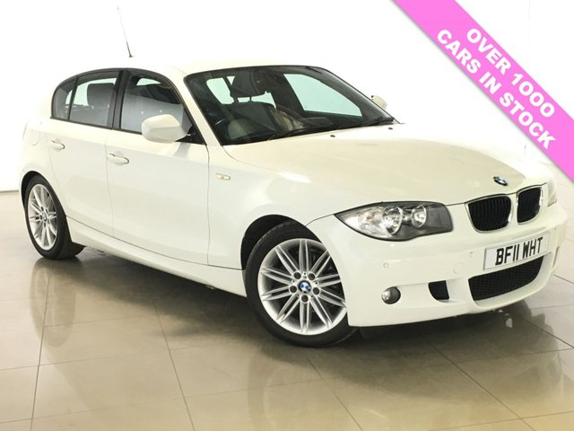 View our 2011 11 BMW 1 SERIES 2.0 116I M SPORT 5d AUTO 121 BHP