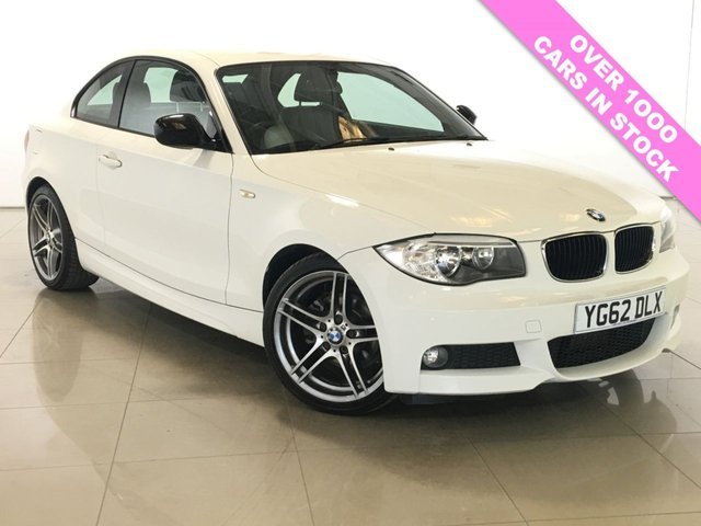 View our 2012 62 BMW 1 SERIES 2.0 118D SPORT PLUS EDITION 2d 141 BHP