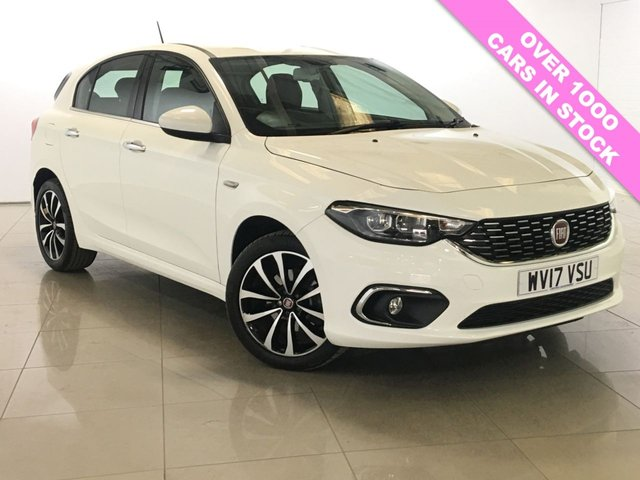 View our 2017 17 FIAT TIPO 1.2 MULTIJET LOUNGE 5d 95 BHP