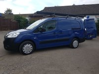 2012 PEUGEOT PARTNER 3 SEAT 750SE L2 LWB E-HDI 90BHP FROM A LOCAL AUTHORITY £4695.00