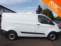 USED 2017 67 FORD TRANSIT CUSTOM 2.0 290 LR P/V 1d 104 BHP