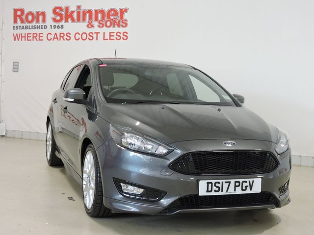 View our 2017 17 FORD FOCUS 1.0 ST-LINE 5d 124 BHP with Appearance Pack + Parking Sensors
