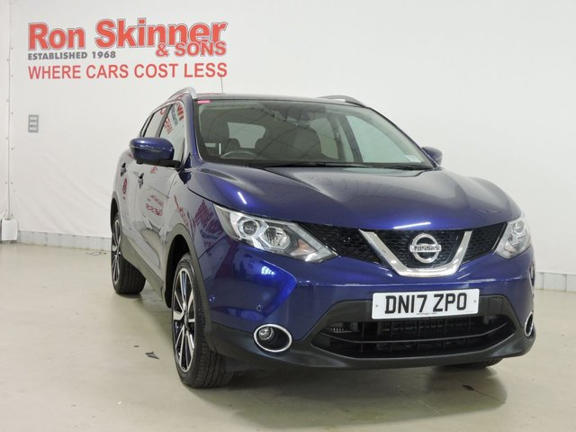 View our 2017 17 NISSAN QASHQAI 1.6 DCI TEKNA 5d 128 BHP