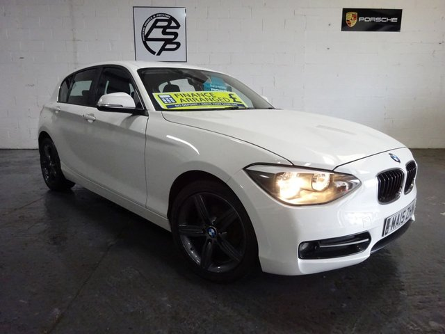 2015 15 BMW 1 SERIES 1.6 i Sports Hatch I Sport