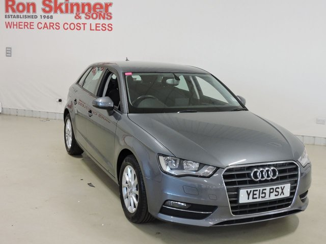 View our 2015 15 AUDI A3 1.6 TDI SE 3d 109 BHP