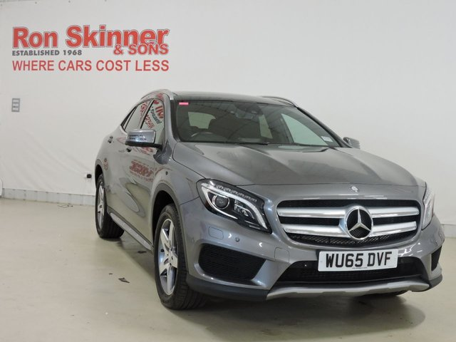 View our 2015 65 MERCEDES-BENZ GLA-CLASS 2.1 GLA200 CDI AMG LINE PREMIUM PLUS 5d AUTO 136 BHP