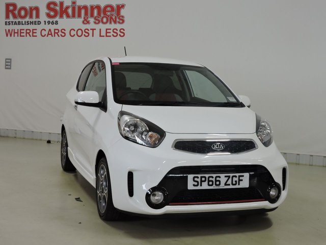 View our 2016 66 KIA PICANTO 1.2 CHILLI ISG 3d 84 BHP