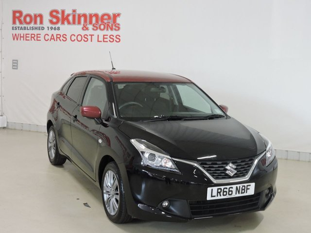 View our 2016 66 SUZUKI BALENO 1.0 SZ-T BOOSTERJET 5d 111 BHP