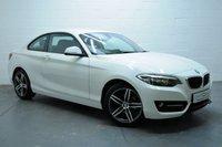 2014 BMW 2 SERIES 2.0 218D SPORT 2d 141 BHP £11695.00
