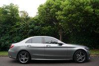 USED 2014 64 MERCEDES-BENZ C CLASS 2.1 C220 BLUETEC AMG LINE PREMIUM PLUS 4d AUTO 170 BHP