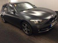 2013 BMW 1 SERIES 1.6 116I SPORT 5d 135 BHP £9900.00
