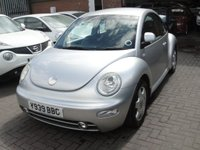 USED 2001 Y VOLKSWAGEN BEETLE 1.6 8V 3d 101 BHP ANY PART EXCHANGE WELCOME, COUNTRY WIDE DELIVERY ARRANGED, HUGE SPEC
