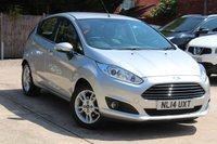 USED 2014 14 FORD FIESTA 1.2 ZETEC 5d 81 BHP **** £30 ROAD TAX ****