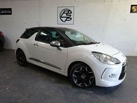 USED 2012 12 CITROEN DS3 1.6e-HDi ( 110bhp ) Airdream DSport Plus 12 Reg only done 67k