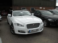 USED 2013 63 JAGUAR XJ 3.0 D V6 PORTFOLIO 4d AUTO 275 BHP ANY PART EXCHANGE WELCOME, COUNTRY WIDE DELIVERY ARRANGED, HUGE SPEC