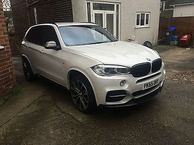 2015 65 BMW X5 3.0TD Steptronic M50d 65 reg only 3k + good spec + low rate finance
