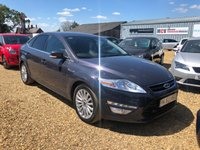2013 FORD MONDEO 2.0 ZETEC BUSINESS EDITION TDCI 5d 138 BHP £6990.00