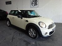 USED 2013 13 MINI HATCH ONE 1.6TD One D  3 Reg only done 45,000 miles