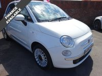 USED 2010 10 FIAT 500 1.4 LOUNGE  10 Reg only done 62,000 miles