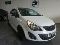 USED 2012 62 VAUXHALL CORSA 1.2i 16v ( 85ps ) Limited Edition 62 Reg only done 70k