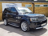 2010 LAND ROVER RANGE ROVER SPORT 3.6 TDV8 AUTOBIOGRAPHY SPORT 5d 269 BHP £17984.00
