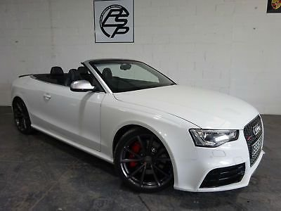 2013 55 AUDI A5 4.2 Quattro Auto 13 reg Convertible only done 49,000 miles