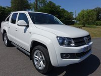 2014 VOLKSWAGEN AMAROK HIGHLINE 4MOTION DOUBLE CAB AUTO 2.0 TDI 180Ps £16995.00