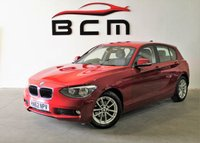2012 BMW 1 SERIES 1.6 116D EFFICIENTDYNAMICS 5d 114 BHP £8100.00