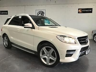 2013 13 MERCEDES-BENZ M CLASS 2.1 ML250 BLUETEC SPORT 5d AUTO 204 BHP