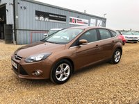 USED 2013 62 FORD FOCUS 1.6 ZETEC TDCI 5d 113 BHP