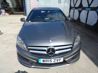 USED 2015 15 MERCEDES-BENZ A CLASS 2.1 A200 CDI AMG SPORT 5d 136 BHP