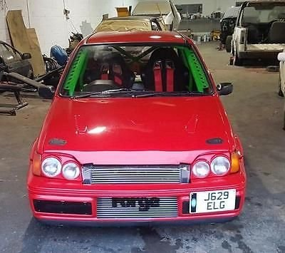 1991 J FORD FIESTA RS COSWORTH 2WD + ONE OFF +RALLY TRACK CAR + ROAD LEGA