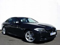 USED 2012 62 BMW 5 SERIES 3.0 535D M SPORT 4d AUTO 309 BHP OVER £16,000 SPECIFICATION with 1 OWNER FROM NEW & FULL BMW MAIN DEALER SERVICE HISTORY!!....