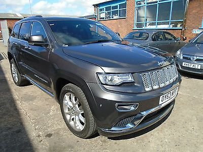 2013 63 JEEP GRAND CHEROKEE 3.0CRD Summit + UNRECORDED NOT CAT C OR D