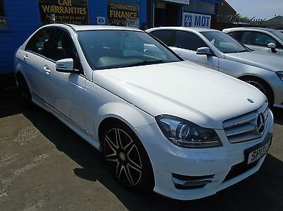 2013 13 MERCEDES-BENZ C CLASS 2.1CDI CDI AMG SPORT Auto 13 Reg only done 67,000