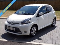 USED 2012 62 TOYOTA AYGO 1.0 VVT-I FIRE 5d 67 BHP PERFECT LITTLE CITY CAR - VERY CHEAP TO RUN
