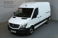 USED 2016 66 MERCEDES-BENZ SPRINTER 2.1 313 CDI 129 BHP MWB HIGH ROOF MANUFACTURER WARRANTY UNTIL 27/09/2019