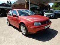 2002 VOLKSWAGEN GOLF 2.0 GTI 5d 114 BHP £500.00