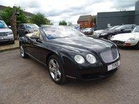 2006 BENTLEY CONTINENTAL 6.0 GTC 2d AUTO 550 BHP £39549.00