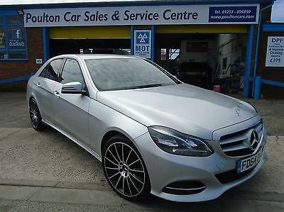 2014 64 MERCEDES-BENZ E CLASS 2.1CDI SE AUTO ++ 41K ++ LEATHER ++ NAV + 1 OWNER