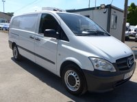 2012 MERCEDES-BENZ VITO 110 CDI LWB GAH CHILLER, LOW MILES, 1 COMPANY OWNER £SOLD