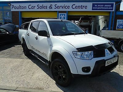 2012 62 MITSUBISHI L200 2.5D BARBARIAN BLACK + 29K FSH + NAV+ LEATHER