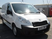 USED 2015 15 PEUGEOT EXPERT 1.6 HDI 1000 L1H1 PROFESSIONAL 1d 90 BHP FULL SERVICE HISTORY