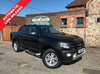 USED 2014 64 FORD RANGER 3.2 WILDTRAK 4X4 DCB TDCI 1d AUTO 197 BHP SAT NAV, 3.2 Automatic, Air Con, One Owner, Rear Parking Aid Camera.