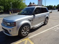 2012 LAND ROVER RANGE ROVER SPORT 3.0 SDV6 AUTOBIOGRAPHY SPORT 5d AUTO 255 BHP £23995.00