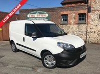 USED 2015 65 FIAT DOBLO 1.2 16V MULTIJET 1d 90 BHP New Shape, One Owner, Low Mileage, Finance In 60 Seconds.
