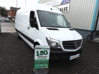 2014 MERCEDES-BENZ SPRINTER 2.1 313 CDI LWB 129 BHP 1 OWNER FROM NEW FULL MERC SERVICE HISTORY £11795.00