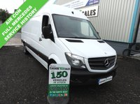 USED 2014 14 MERCEDES-BENZ SPRINTER 2.1 313 CDI LWB 129 BHP 1 OWNER FROM NEW FULL MERC SERVICE HISTORY 1 OWNER FROM NEW AIR CON CRUISE